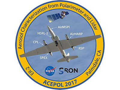 Logo for the Aerosol Characterization from Polarimeter and Lidar (ACEPOL) campaign. Credit: ACEPOL