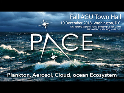 PACE Town Hall at American Geophysical Union Fall Meeting