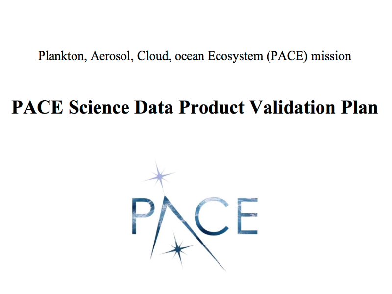 PACE Science Data Product Validation Plan