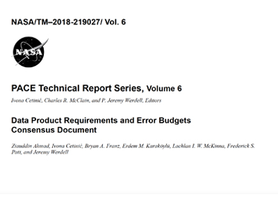 Data Product Requirements and Error Budgets