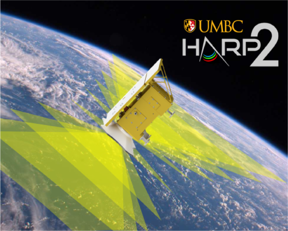 The Hyper Angular Rainbow Polarimeter (HARP-2) is one of two polarimeters on the PACE mission. HARP-2 (provided by the University of Maryland Baltimore County) will be used to determine cloud droplet size, ice particle shape and roughness.