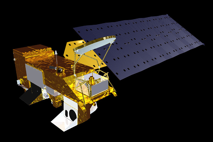 MODIS instrument launched aboard NASA's Aqua satellite in 2002.