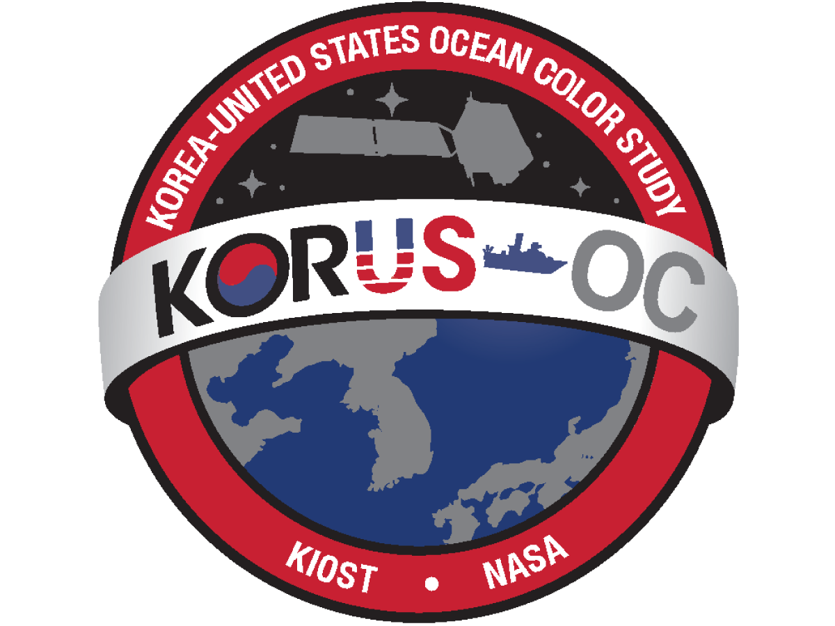 Logo for the Korea - United States Ocean Color (KORUS-OC) Study