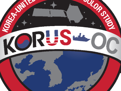 Logo for the Korea - United States Ocean Color (KORUS-OC) field campaign.