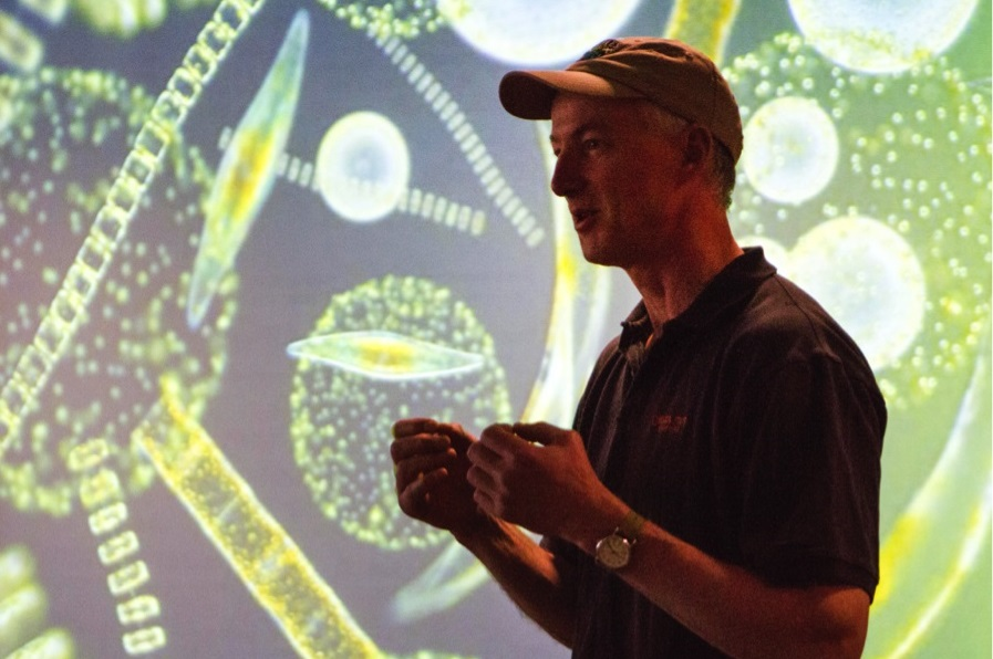 NAAMES Chief Scientist Mike Behrenfeld explains the importance of plankton for life on Earth.