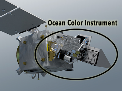 Ocean color instrument