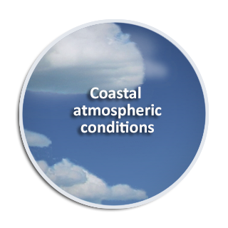 Coastal atmospheric conditions