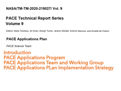 PACE Applications Plan