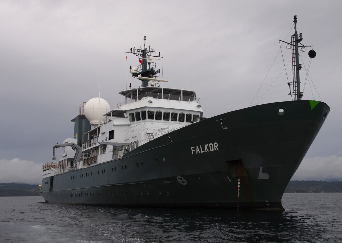 The R/V <em>Falkor</em> is an oceanographic research vessel, the flagship vessel of the Schmidt Ocean Institute.