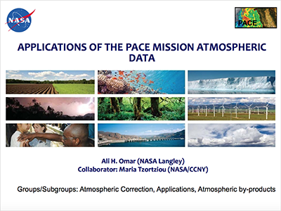 Societal Benefits of PACE Atmospheric Data