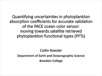 Quantifying Uncertainties in Phytoplankton Absorption Coefficients for Accurate Validation of the PACE Ocean Color Sensor: Moving Towards Satellite Retrieved Phytoplankton Functional Types (PFTs)