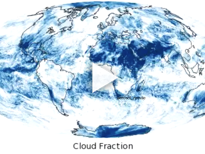 Global Monthly Cloud Fraction (2000-2015)