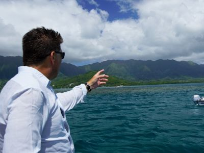 Scouting Sampling Sites in Hawaii During CORAL