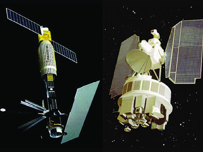 SeaSat and Nimbus-7