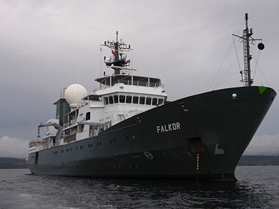 The R/V Falkor is the Flagship Vessel of the Schmidt Ocean Institute