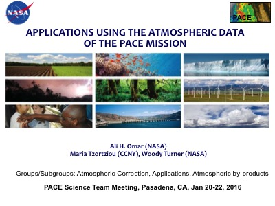 Maximizing the Societal Benefits of PACE Atmospheric Data by Actively Linking the Mission to its Applications