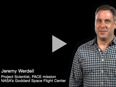 Jeremy Werdell, oceanographer at NASA's Goddard Space Flight Center, discusses the importance of microscopic plankton in the global carbon cycle. Credit: Goddard Media Studios. Music: Molecular by Mark Hawkins